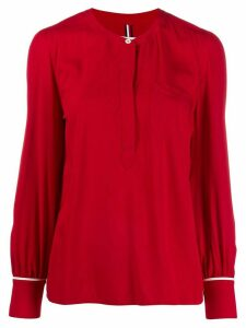 Tommy Hilfiger button-detail blouse - Red