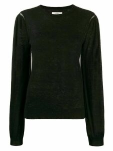 Isabel Marant Étoile long-sleeve fitted sweater - Black