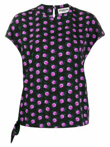 Essentiel Antwerp floral print T-shirt - Black