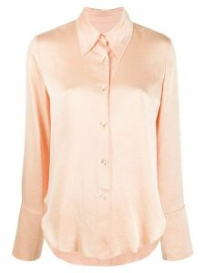 Nanushka textured metallic shirt - NEUTRALS