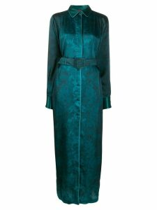F.R.S For Restless Sleepers belted floral gown - Blue