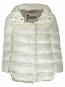 Herno shiny padded puffer jacket - White