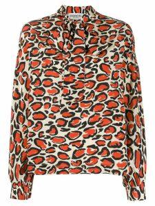Essentiel Antwerp leopard print blouse - NEUTRALS