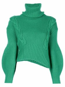 Alejandra Alonso Rojas chunky knit jumper - Green