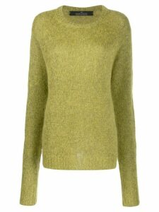 Rokh oversized knitted jumper - Green