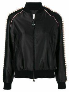 Chiara Ferragni Bomber Beads jacket - Black