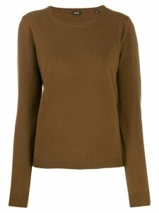 Aspesi fine knit jumper - Brown