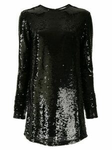 Racil sequin tunic top - Black