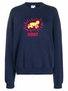 Fiorucci Keith Haring Radiant sweatshirt - Blue