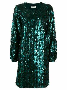 Essentiel Antwerp sequin shift dress - Green