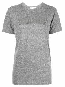 Rodarte metallic print T-shirt - Grey