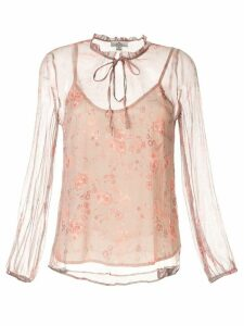 We Are Kindred Lorelai floral-print blouse - Pink