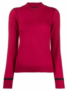 Armani Exchange fine knit sweater - Pink