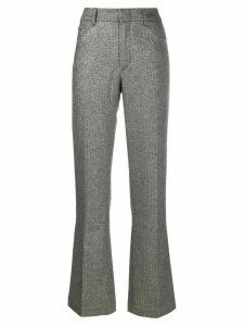 Zadig & Voltaire metallic finish trousers - SILVER