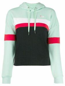 Fila colour-block hooded sweatshirt - Green