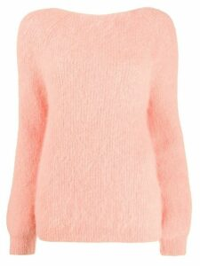 Semicouture Abbey knot-detail jumper - PINK