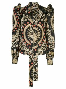 Fausto Puglisi House of Puglisi twill blouse - Black