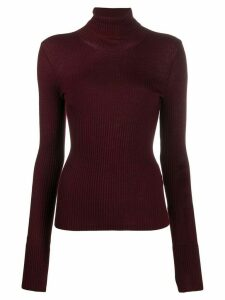 MRZ turtleneck knitted top - Red