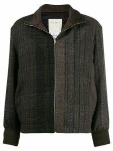 Stephan Schneider Botany check-print jacket - Grey