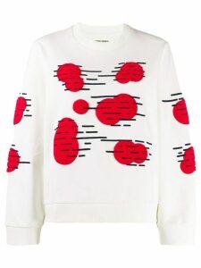 Henrik Vibskov appliqued sweatshirt - White