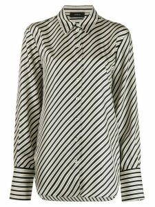 Joseph striped silk shirt - Black