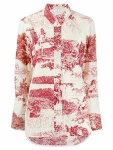 Chloé Toile de Jouy print popeline shirt - White