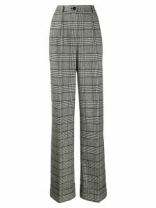 Dolce & Gabbana Prince of Wales check trousers - Black