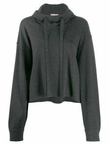 MRZ knitted hoodie - Grey