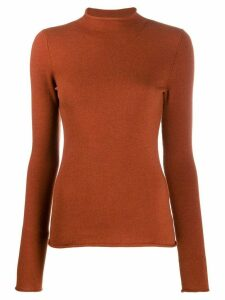 MRZ knitted long sleeve jumper - Brown