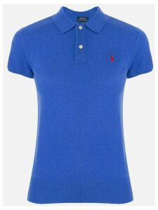 Polo Ralph Lauren ribbed knit polo top - Blue
