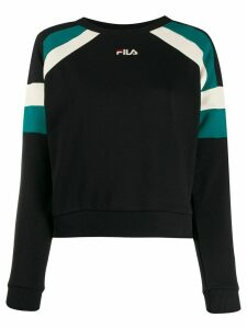 Fila stripe panel sweatshirt - Black