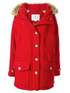 Woolrich hooded parka jacket - Red