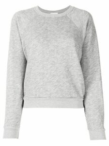 Re/Done textured knit sweater - Grey