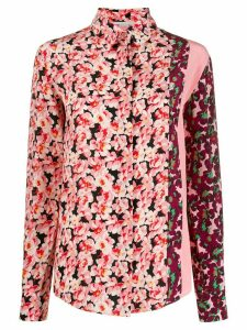 Stella McCartney mixed floral print shirt - PINK