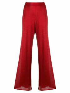 Missoni high-rise flared trousers