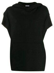 Barena Rachele loose-fit hoodie - Black