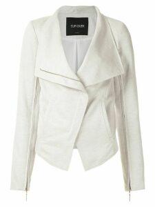 Tufi Duek linen jacket - White