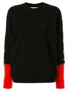Être Cécile Earn Your Stripes sweatshirt - Black