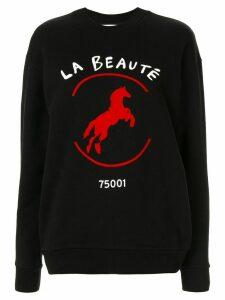 Être Cécile La Beaute sweatshirt - Black
