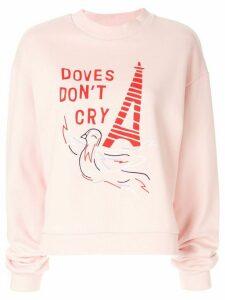 Être Cécile Doves Dont Cry Alexis sweatshirt - PINK