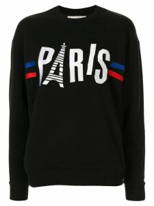 Être Cécile Paris Boyfriend sweatshirt - Black