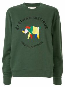 Être Cécile Elephantastique BF sweatshirt - Green