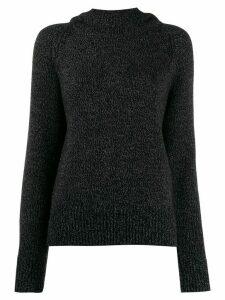 Joseph knitted hooded jumper - Grey