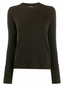 Max Mara long-sleeve knitted jumper - Brown