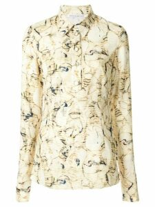 CAMILLA AND MARC Caspian print longsleeved shirt - Yellow