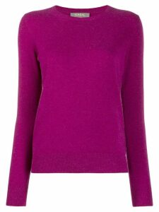 N.Peal round-neck jumper - PURPLE