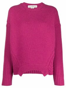 Golden Goose chunky knit jumper - PINK