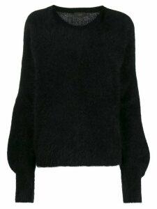 Lédition knitted jumper - Black