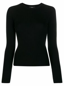 Theory fine knit jumper - Black