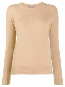 N.Peal round-neck jumper - NEUTRALS